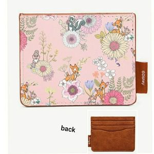 NWT Loungefly Bambi Floral Cardholder